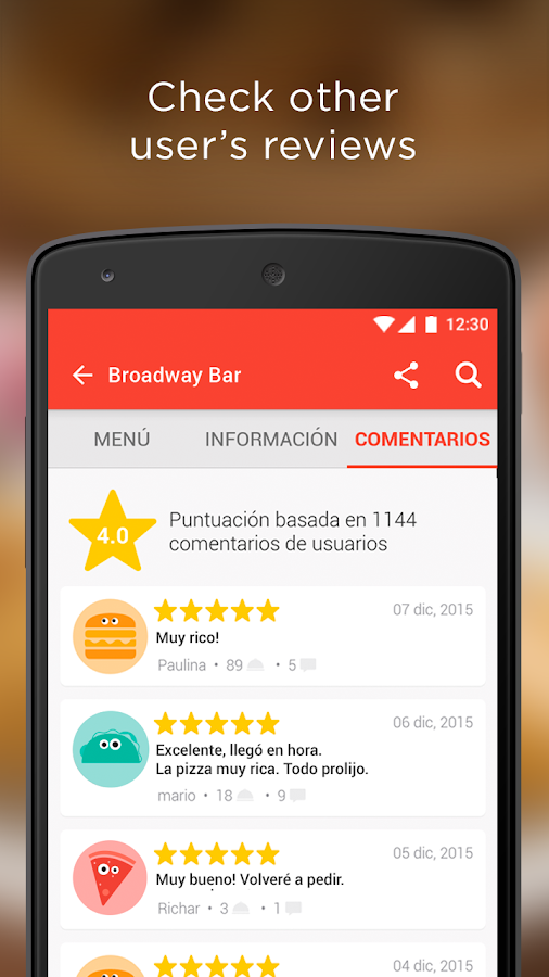 PedidosYa - Food Delivery Screenshot 3