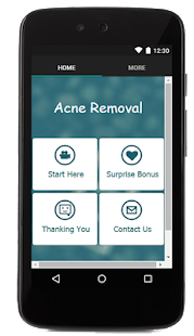 Acne Removal Tips - screenshot