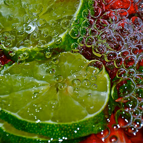 bubbly surprise by Diana Margan - Food & Drink Ingredients ( green, colors, food, fruits, lime )