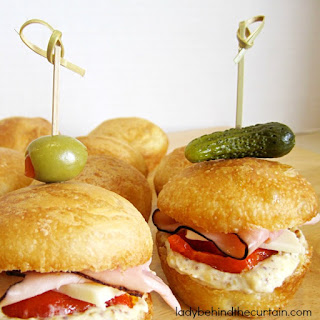 Mini Sandwich Appetizers Recipes