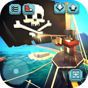 Pirate Ship Craft: Exploration & Sea Battles Games