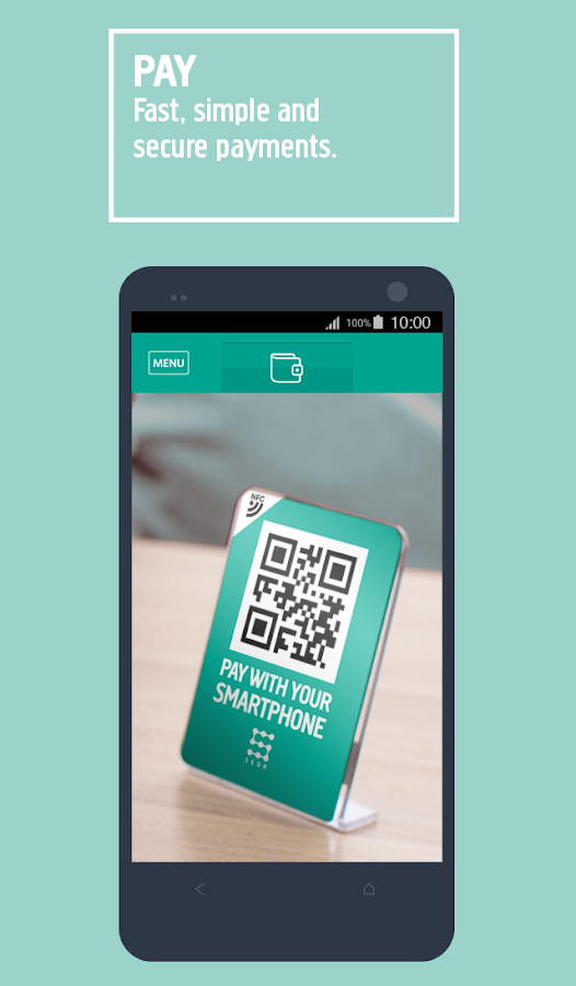 SEQR - The mobile wallet Screenshot 2