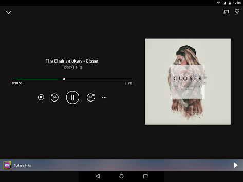 TuneIn Radio APK screenshot thumbnail 6