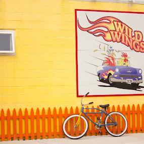 Wild Wings in Wildwood! by Stéphane Vaillancourt - City,  Street & Park  Street Scenes ( juillet, wildwood 2011, stéphane vaillancourt )