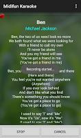 Screenshot of Midifun Karaoke