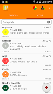 DebtCollectorApp 2 - screenshot