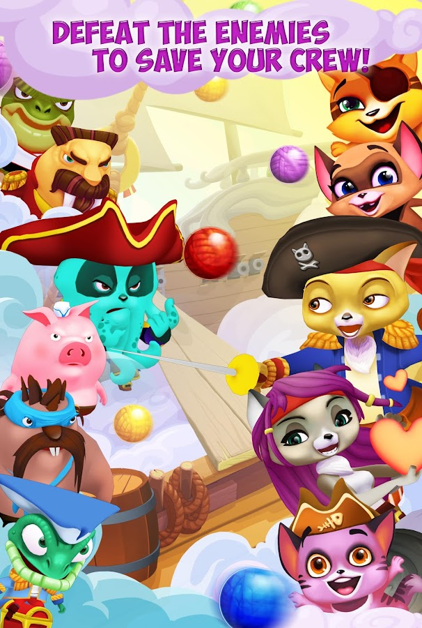 Kitty Pop Pirates Screenshot 2