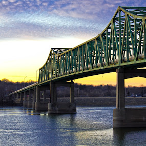 RT 30 Mississippi River  by Matt Holley - Buildings & Architecture Bridges & Suspended Structures