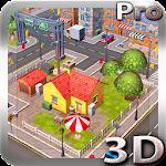 Cartoon City 3D live wallpaper Icon