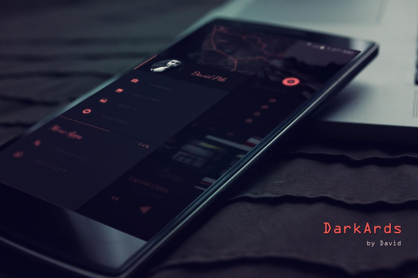 DarkArds for KLWP Screenshot 2