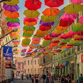 by Zaharescu Dragos - City,  Street & Park  Street Scenes