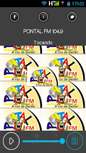PONTAL FM 104,9 - screenshot