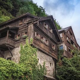 Hallstatt by Ole Steffensen - Buildings & Architecture Homes ( home, salzburg, wooden, house, hallstatt, salzkammergut, austria )