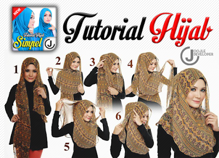 Tutorial Hijab 2017 Simple - screenshot