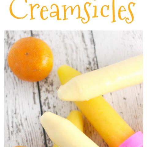 Florida Orange Juice Creamsicles