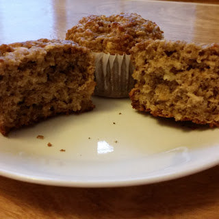 Ginger Honey And Lemon Oat Bran Muffins