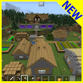 Survival Village MCPE map APK for Bluestacks