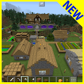 Survival Village MCPE map