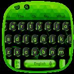 Black Neon Green Keyboard Icon