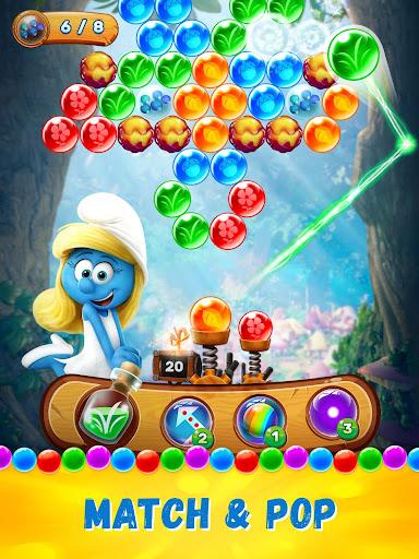 Smurfs Bubble Shooter Story screenshot 8