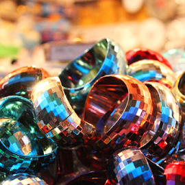 Glass bangles by Nelson Thekkel - Artistic Objects Jewelry