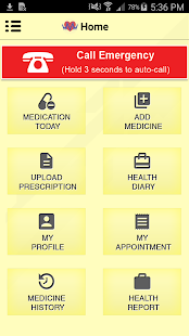 Mediware Medication Reminder - screenshot