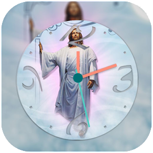 Download PIP Clock Jesus Live Wallpaper for PC