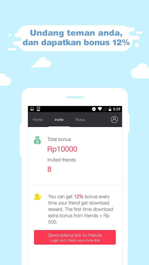 Swaycash - Pulsa Gratis Screenshot 2