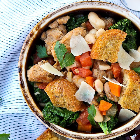Italian Sausage Stew with White Beans and Kale