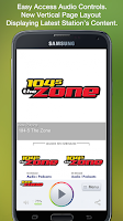 Screenshot of 104-5 The Zone