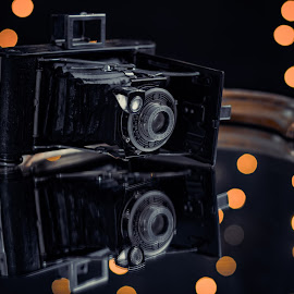Champagne And Camera by Steve Dehanne - Artistic Objects Antiques