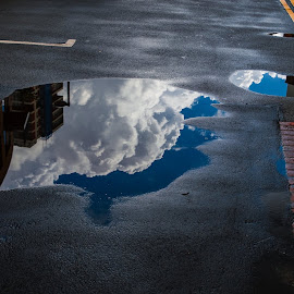 Reflective by Jonny Wood - City,  Street & Park  Street Scenes