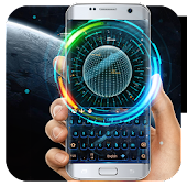 App earth galaxy keyboard space warship neon APK for Windows Phone