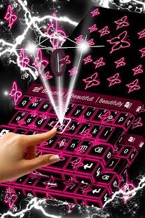 App Neon Butterflies Keyboard 1.224.1.119 APK for iPhone