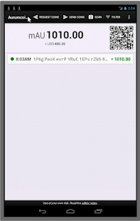 Aurumcoin Wallet Business app for Android Preview 1
