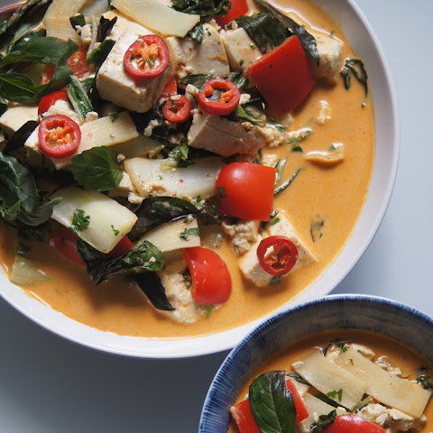 Thai Yellow Curry with Tofu