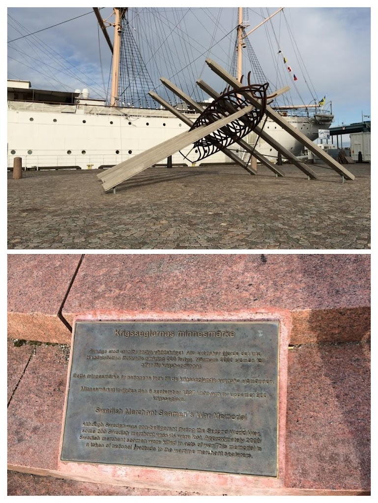 Swedish Merchant Seamen's War Memorial Although Sweden was non-belligerent during the Second World War, some 200 Swedish merchant vessels were lost. Approximately 2000 Swedish merchant seamen were ...