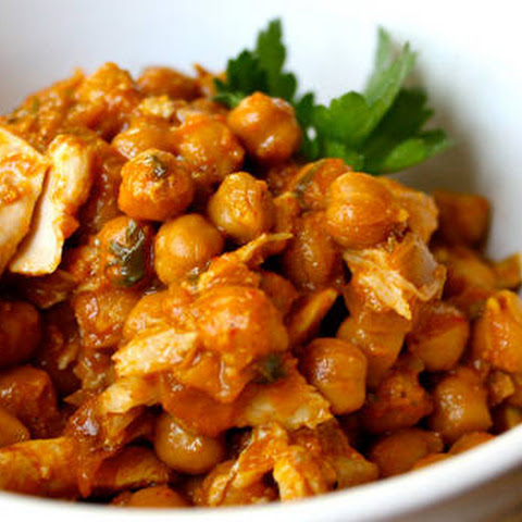 Chickpea Curry with Chicken