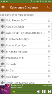 Canciones Cristianas - screenshot