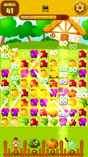 Happy Hay Farm World: Match 3 - screenshot