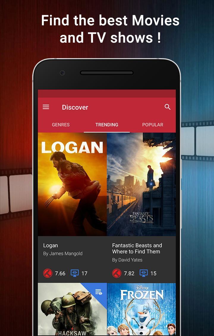 CineTrak: Your Movie and TV Show Diary Screenshot 0