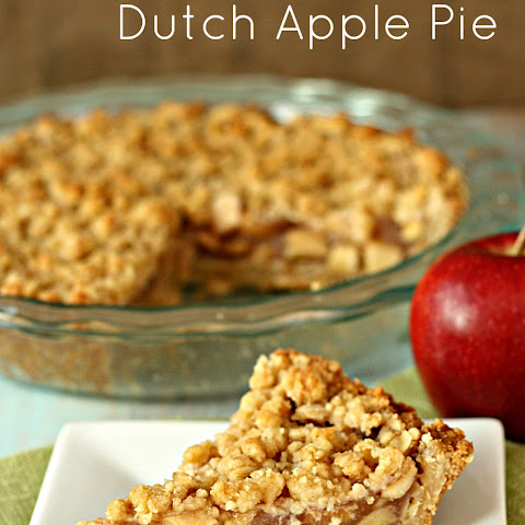 The Best Dutch Apple Pie