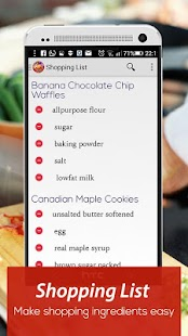 Cookbook : U.S Recipes - screenshot