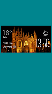 peterborough weather widget - screenshot
