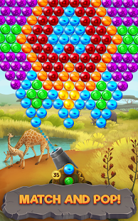 Bubble Savanna - screenshot