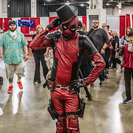 Top Hat by Mike Crosson - People Street & Candids ( cosplay, person, comicon, convention, costume )