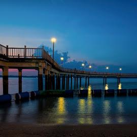 The sea bridge by Gordon Koh - Buildings & Architecture Bridges & Suspended Structures ( bridge )
