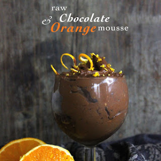 Raw Chocolate & Orange Mousse