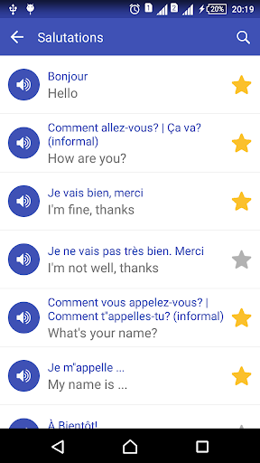Learn French daily - Awabe screenshot 3
