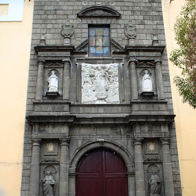 Church entrace by Cristobal Garciaferro Rubio - Buildings & Architecture Other Exteriors ( church, pwcopendoors, mexico, puebla )